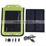 2.4W Universal Solar Charger for Cell Phone GPS MP3 MP4