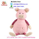 lovely custom toy stuffed animal pink plush pig toy