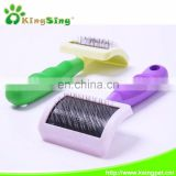 high quality soft handle pet comb,pet cleaning products manufacturer