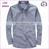 High Quality Custom Design Men Dress Casual Formal Fitted Shirts Slim Shirts