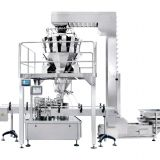 Automatic canning weighing packaging system