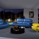 Modern Sofa Set Colorful Sectional Leather Sofa