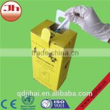High quality disposable medical cardboard box safetybox sharp box