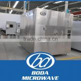 microwave food tray dryer /microwave vacuum dryer