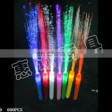 Colorful LED flashing lovely fibre-optical stick party decorations