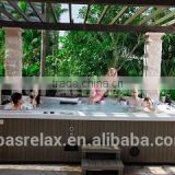 High quality 9 person hot tub / outdoor spa tailor-made (A870)