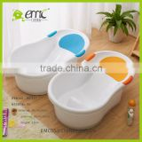 New style baby plastic bath tub kid basket for washing