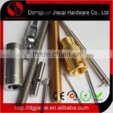 custom brass cnc lathe shaft or pin hardware parts or machined parts used for certain aspect
