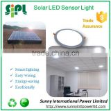No power solar energy led light parts rechargeable solar led emergency light