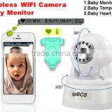 Ipone/Ipad/Android Phone Wireless WIFI IP Camera Health Care Baby Monitor