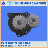PC300-7 digger oil pump 6741-51-1110 with competitive price