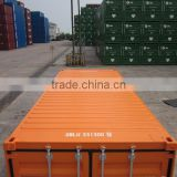 20ft new standard shipping container with BV certificate