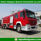 12000-15000l Heavy duty HOWO Water fire trucks sale to Malaysia