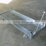 Pulling Plate Mesh Base For Flower Trolley