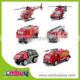 Top selling high quailty alloy diecast model mini new fire vehicle