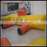China new inflatable water game for kids and adult,inflatable floating water games for sale