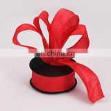 high quality gift wrapping roll organza flower wrapping gift packing roll