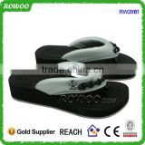 fashion sexy high heel beach slipper sweet pedicure slippers