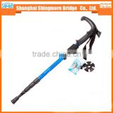 china supplier best sales high standard aluminium alloy mountain climbing stick for outdoor