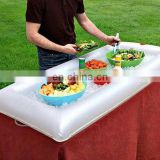 inflatable salad bar beverage cooler