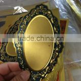 High quality wholesale gold foil paper arabic