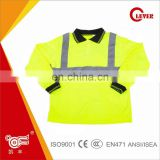 Net Long Sleeve Reflective Safety Vest KF-039