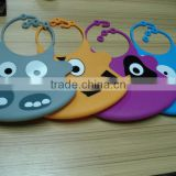 Food Grade Various Animal Design Silicone Baby Bib