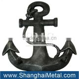 anchor shackle and ship anchor
