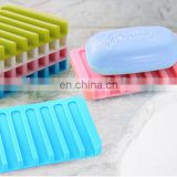 water proof silicone soap box, soap stand, soap dish