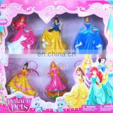 Snow White Princess Figure Play Set Games for Girl