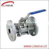 4 inch ball valve with flange 3-pcs ball valve forged stainless steel psi fixed ball valve