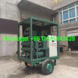 Mobile Trailer Weather/dust proof Transformer Oil Filtration & Regeneration System