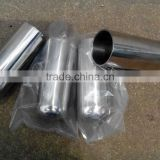 125ml polished stainless steel crucibles