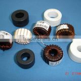 Amorphous alloy car audio filtration inductors