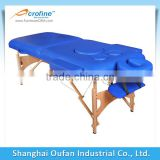 Portable Massage Table Salon Spa Facial Tattoo Bolster Bed Armrest Therapy Equip