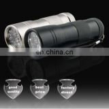 Mini Aluminum 12leds Torch flashlight supplier & manufactory