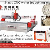 water jet cutting machine 5 axis