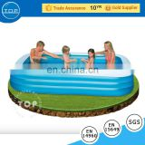 TOP INFLATABLES inflatable glass swimming pool inflatable swimming pool for sale