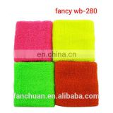 New Design Plain Neon Wristband