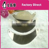 2015 high quality gold metal trims for necklace garment