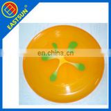 funny attractive looing flying plastic frisbee with printing