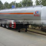 chengli sale brand new 3 axles 35 CBM fuel trailer truck price