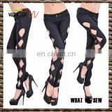 women latest design denim jeans pant wholesale women multi colors jean pants the factory price