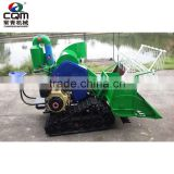Small and high quality 2 row sweet corn harvester