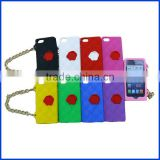 2013 hot sale wallet style Silicone Phone Handbag