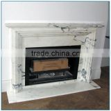 Hot Sale Cheap Modern Simple Stone Marble Fireplace Mantel
