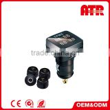 Wireless automatic data transfer 0-9 bar car tire pressure monitoring system