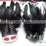 party carnival masquerade feather mask MPM-049