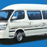 China minibus with power engine low fuel consumption
