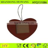 Heart shaped decorative hanging photo frame, heart photo frame